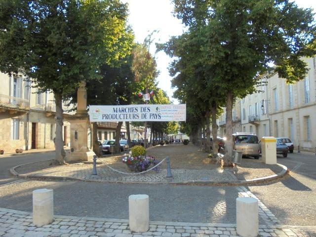 Bygatan i Verdelais.