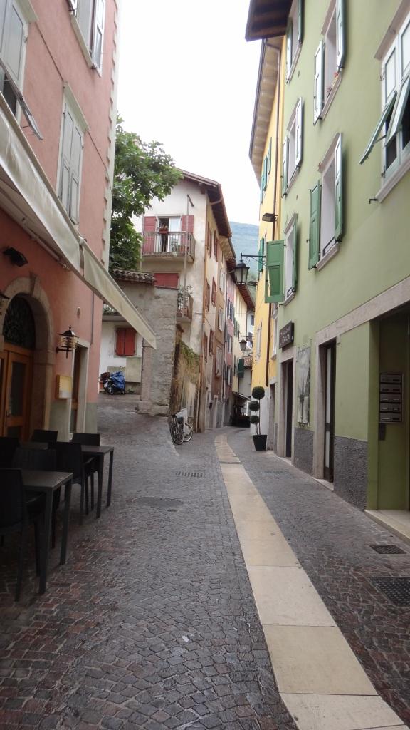 Bostadskvarter i Torbole