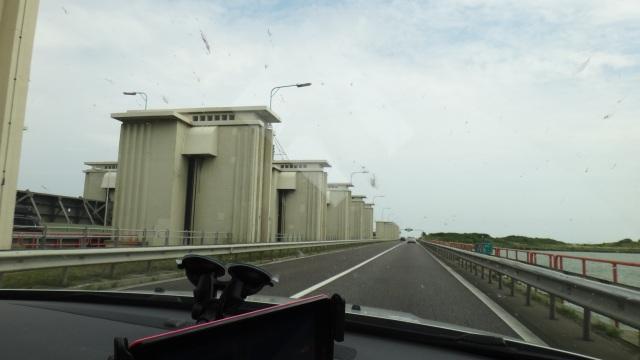 Dammluckorna vid Afsluitdijk.