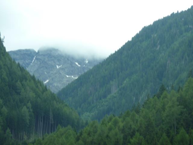 Österrikes alperna, utanför Innsbrück